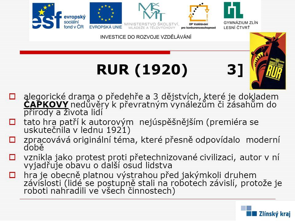 RUR (1920) 3]